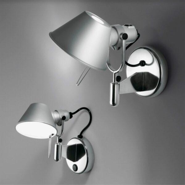 Aplique pared Tolomeo Faretto aluminio Artemide-390