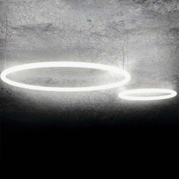 Lámpara colgante Alphabet blanco Artemide-321