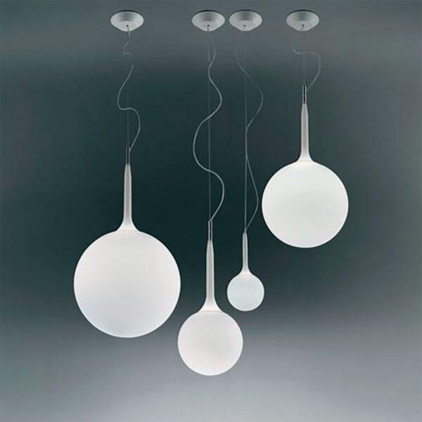 Lámpara colgante Castore Sospensione blanco Artemide-368