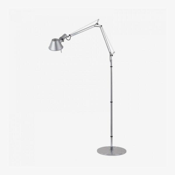 Lámpara de pie Tolomeo Lettura aluminio Artemide-0