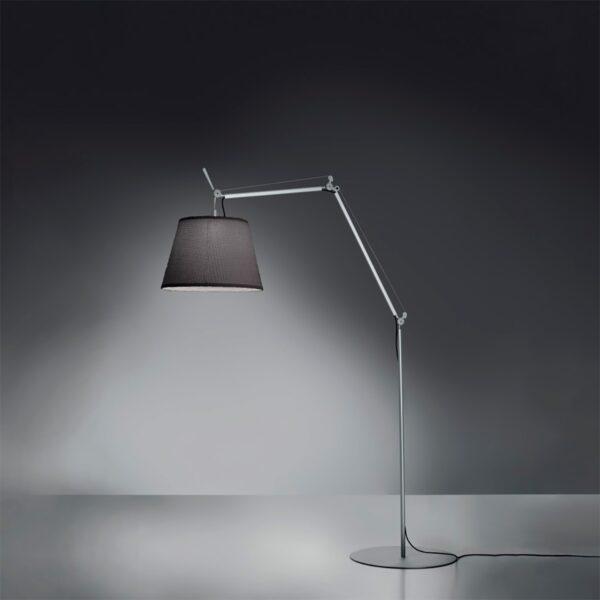Lámpara de pie Tolomeo Mega aluminio Artemide-400