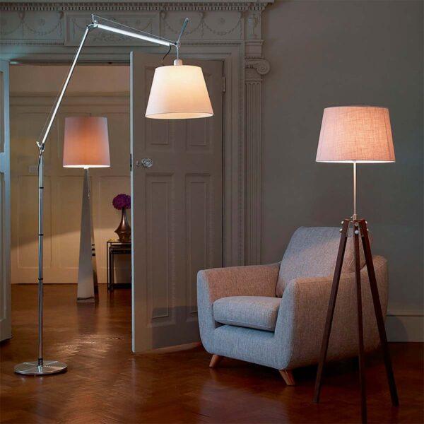 Lámpara de pie Tolomeo Mega aluminio Artemide-401