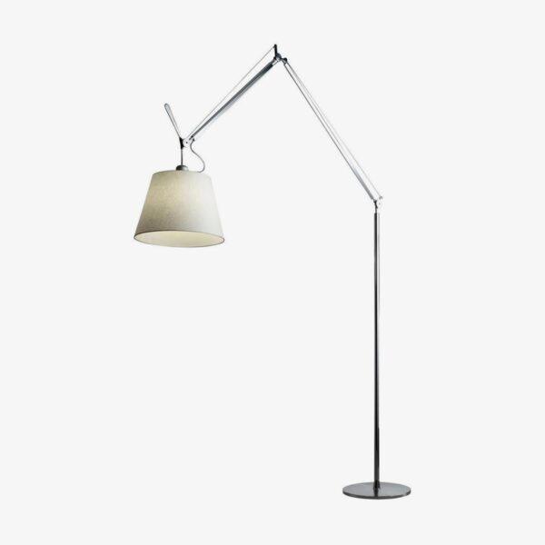 Lámpara de pie Tolomeo Mega aluminio Artemide-0