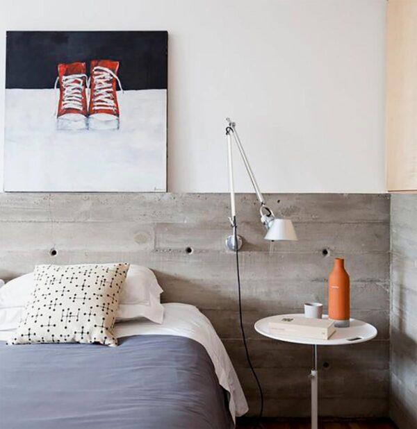 Lámpara flexo de pared Tolomeo Mini aluminio Artemide-361