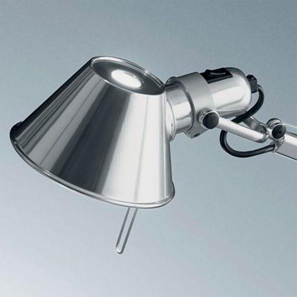 Lámpara sobremesa Tolomeo Micro aluminio Artemide-377