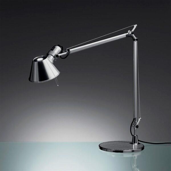 Lámpara sobremesa Tolomeo Micro aluminio Artemide-378