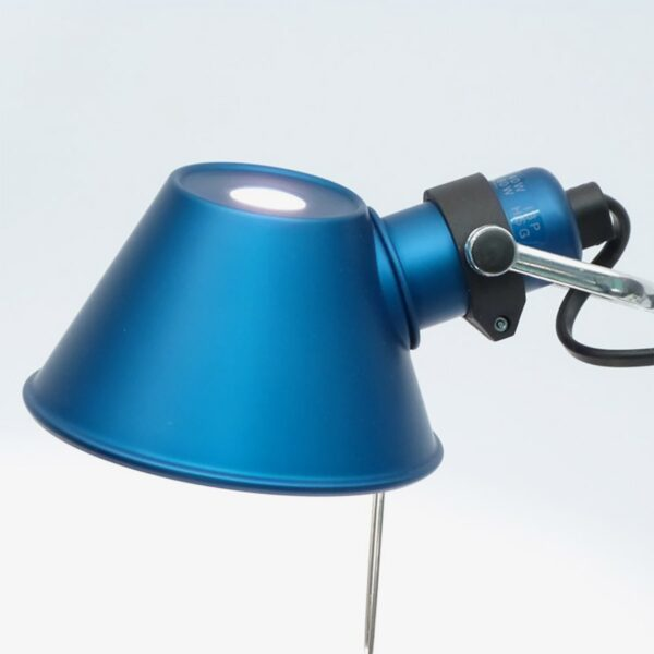 Lámpara sobremesa Tolomeo Micro azul Artemide-375