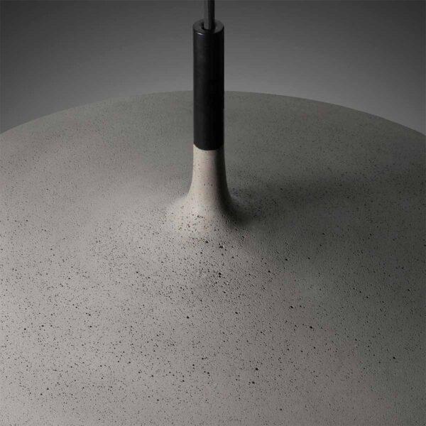 Lámpara colgante Aplomb large gris Foscarini-575