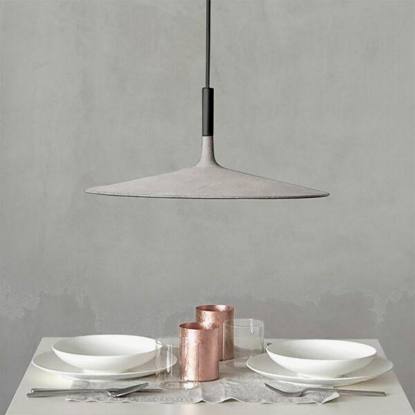 Lámpara colgante Aplomb large gris Foscarini-574