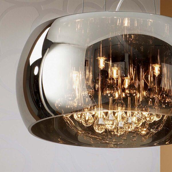 Lámpara colgante Argos D50 cromo Schuller-989