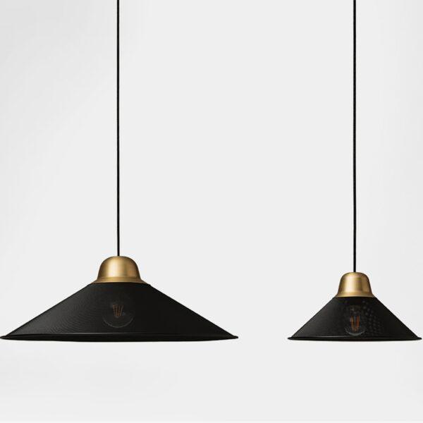 Lámpara colgante Aura negro Petit Friture-980