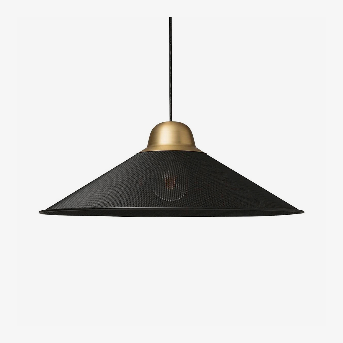 Lámpara colgante Aura negro Petit Friture-0