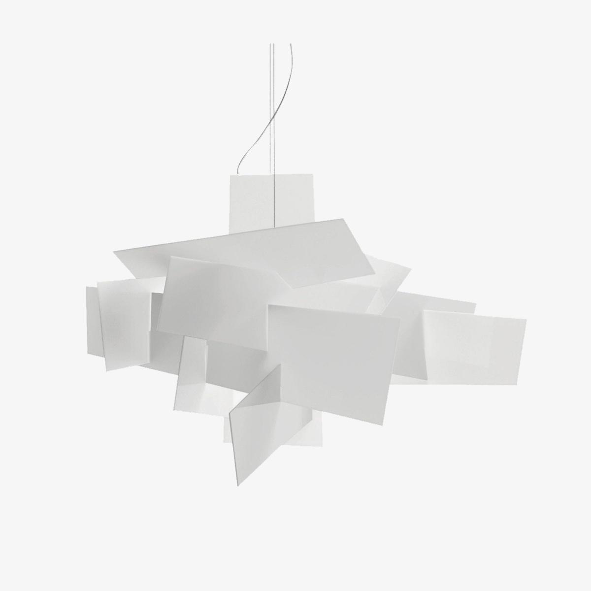 Lámpara colgante Big Bang sospensione blanco Foscarini-0