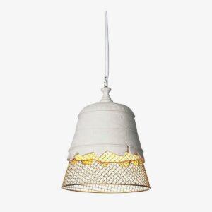 Lámpara colgante Domenica blanco Karman-0