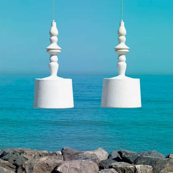 Lámpara colgante exterior Alibabig Karman-744