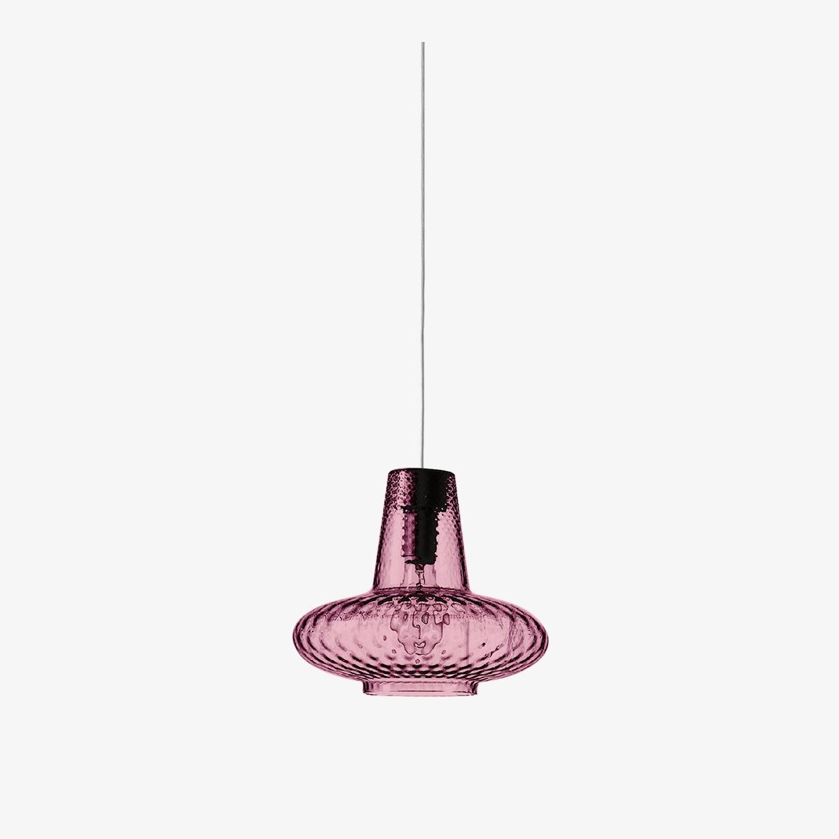 Lámpara colgante Giulietta rosa Zafferano-0
