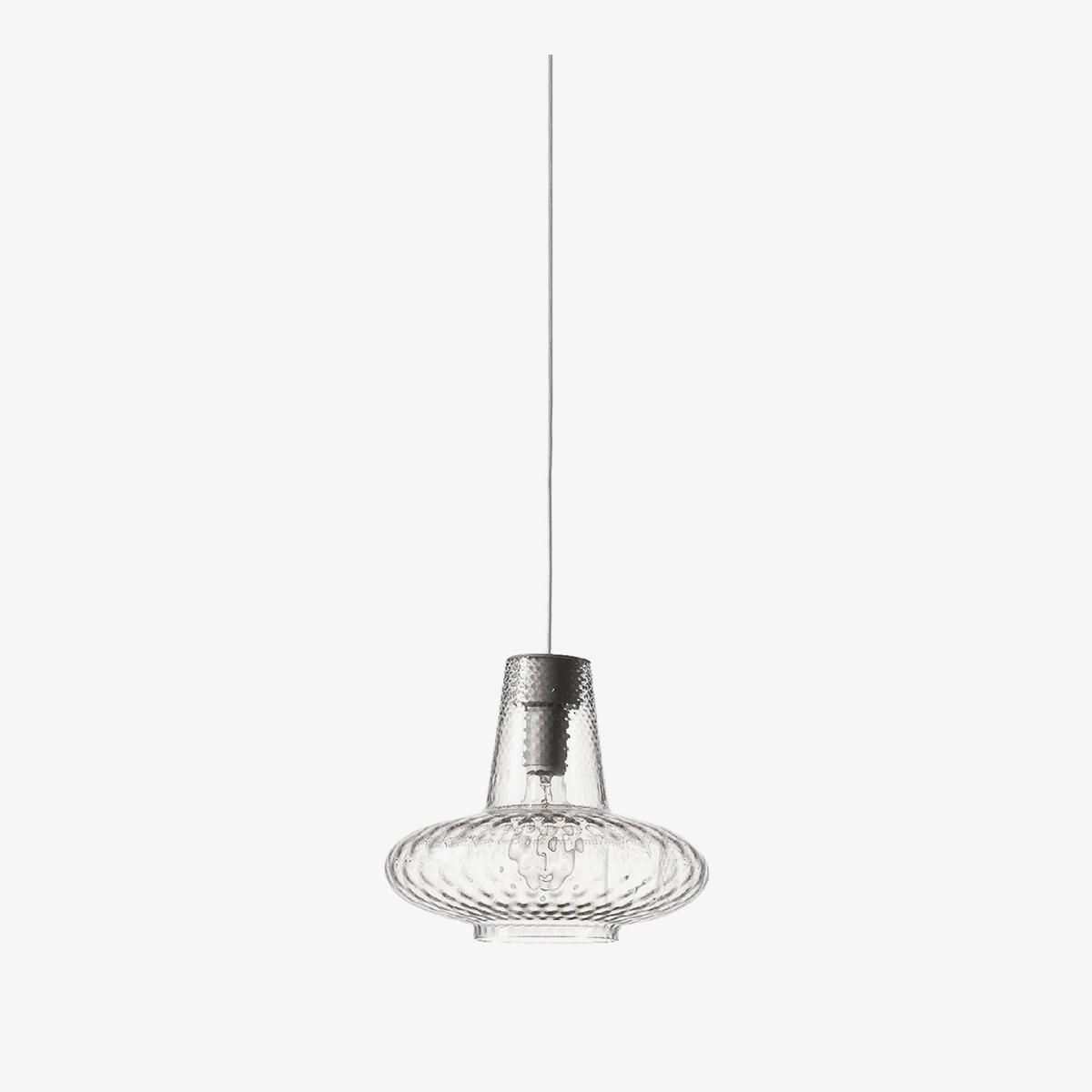 Lámpara colgante Giulietta transparente Zafferano-0