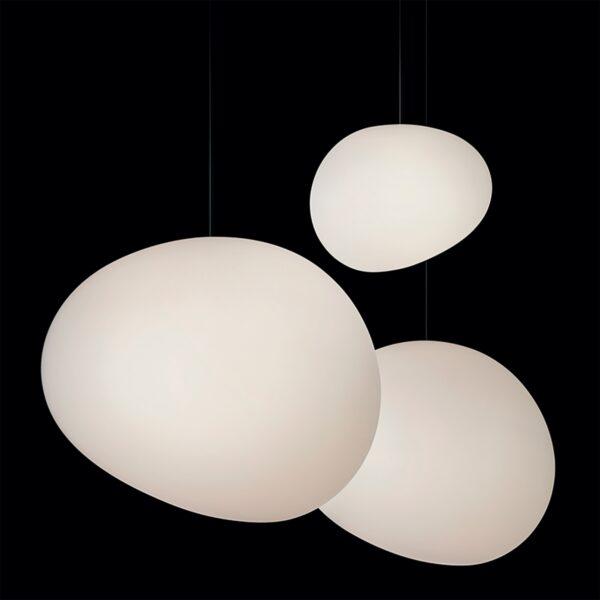 Lámpara colgante Gregg piccola blanco Foscarini-602