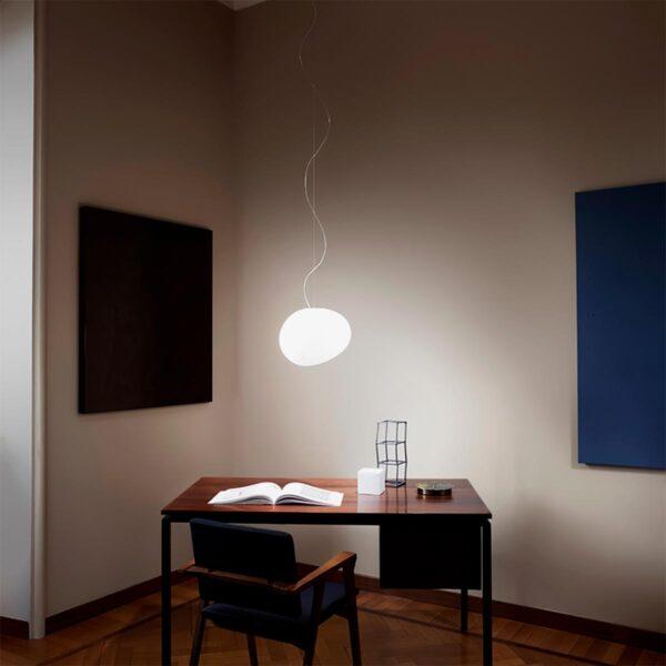Lámpara colgante Gregg piccola blanco Foscarini-601