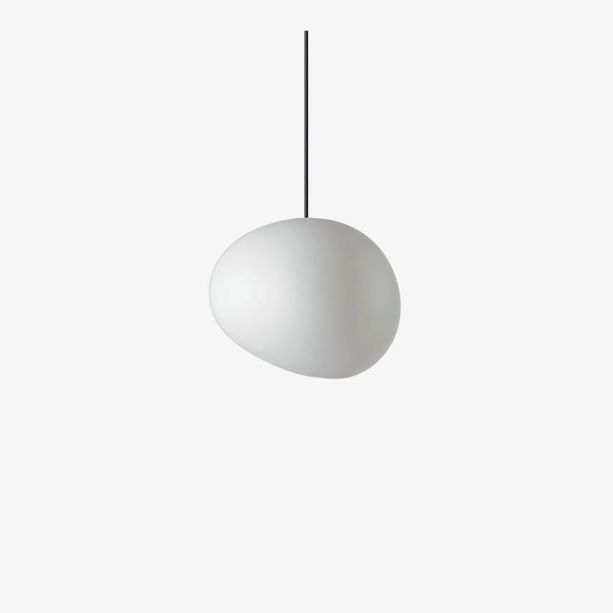 Lámpara colgante Gregg piccola blanco Foscarini-0