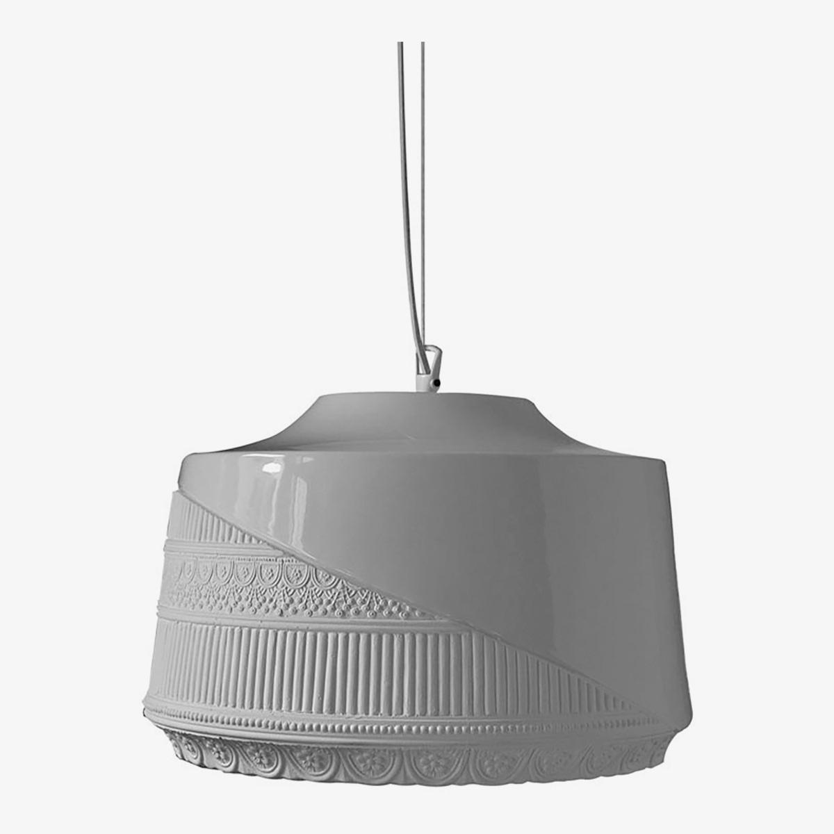 Lámpara colgante Mademoiselle blanco Karman-0