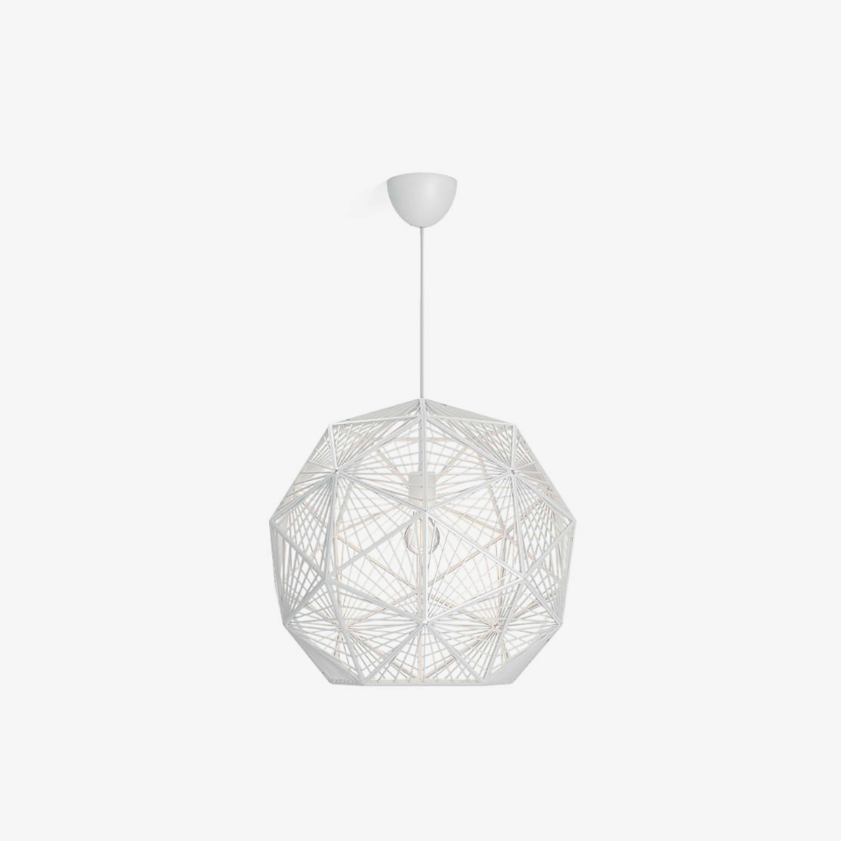 Lámpara colgante Mohair blanco Philips-0