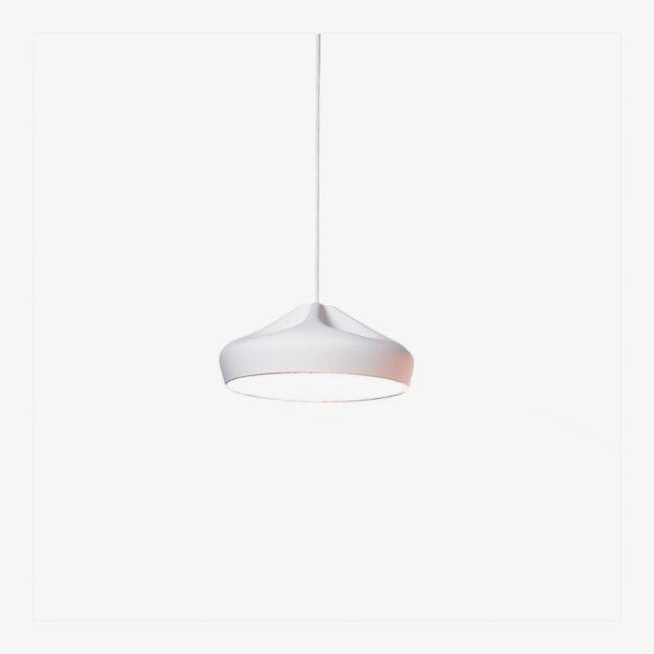 Lámpara colgante Pleat Box D47 blanco Marset-0