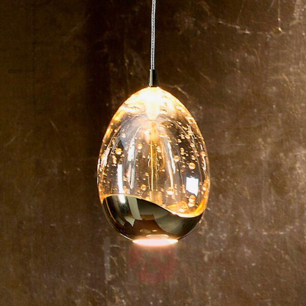 Lámpara colgante Rocio 1LED oro Schuller-1705