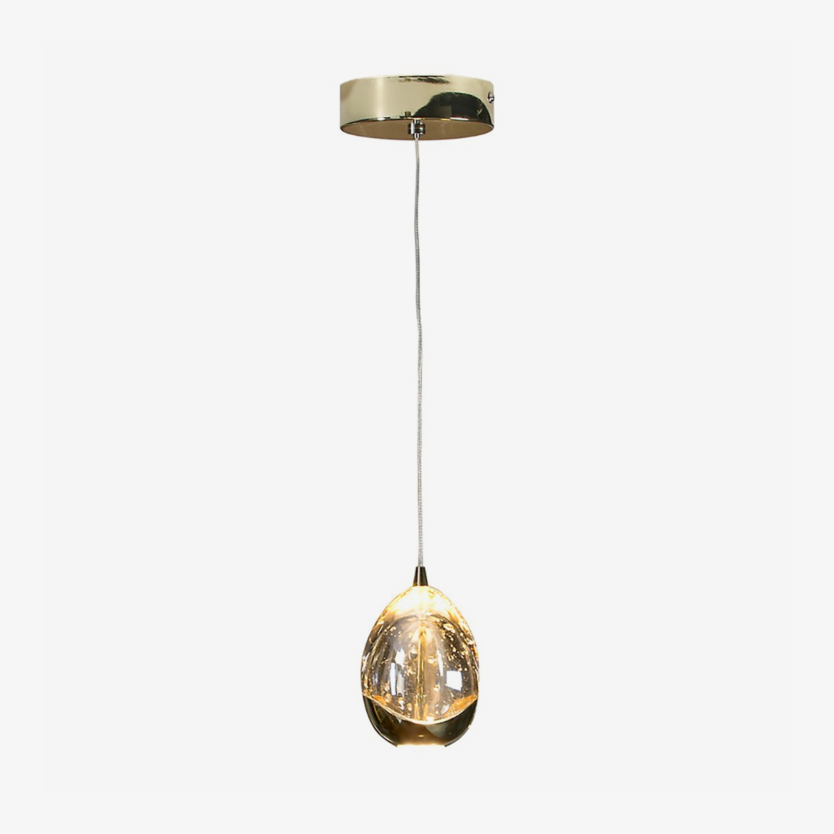 Lámpara colgante Rocio 1LED oro Schuller-0