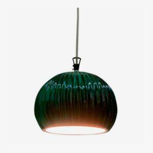 Lámpara colgante Sahara SE668KB verde Karman-0