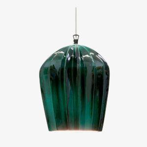 Lámpara colgante Sahara SE669KB verde Karman-0