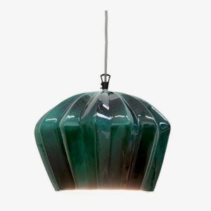 Lámpara colgante Sahara SE670KB verde Karman-0