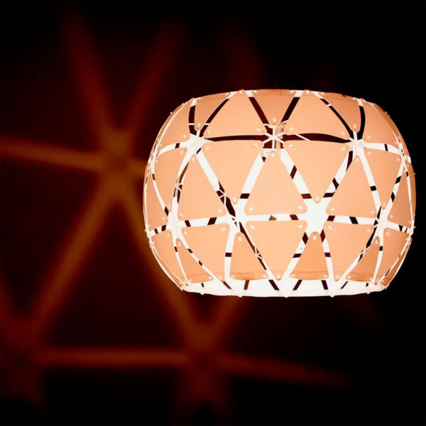 Lámpara colgante Sandalwood blanco Philips-1079