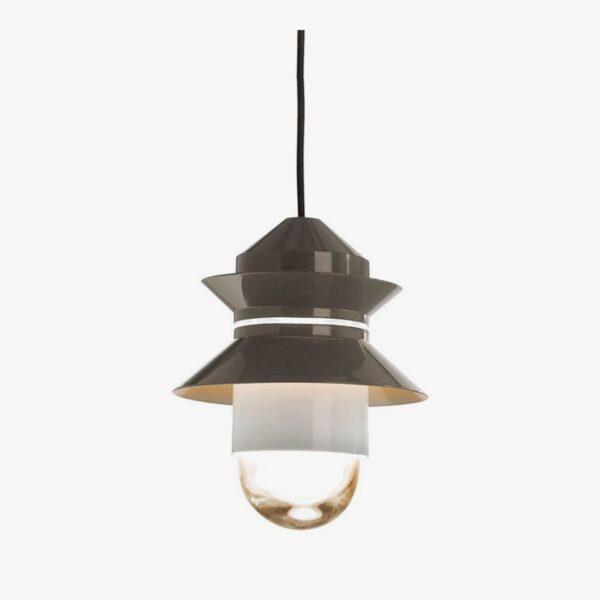 Lámpara colgante Santorini gris Marset-0