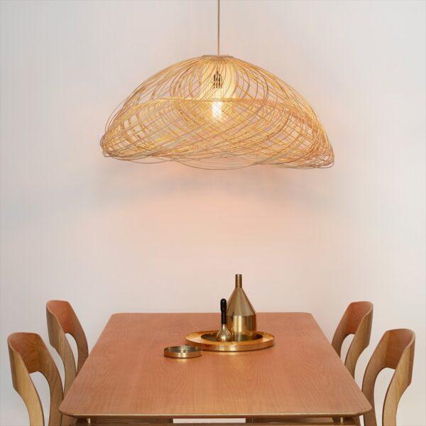 Lámpara colgante Satelise D70 natural Forestier-1621