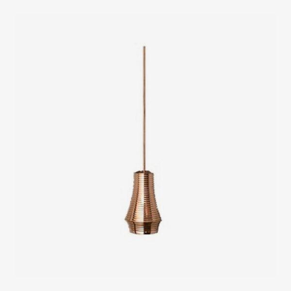 Lámpara colgante Tibeta 01 cobre brillo Bover-0