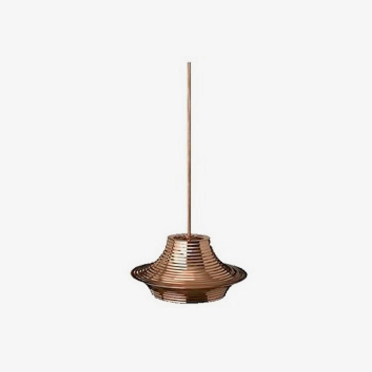 Lámpara colgante Tibeta 03 cobre brillo Bover-0