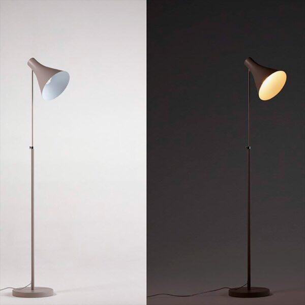 Lámpara de pie Drin gris Philips-1692