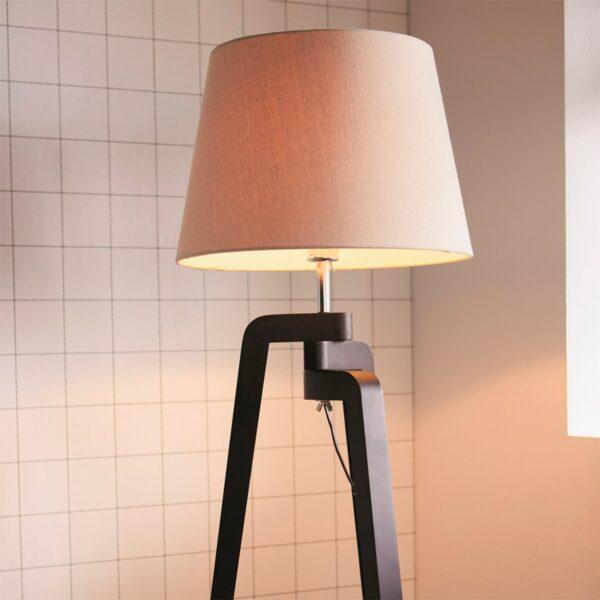 Lámpara de pie Gilbert crema Philips-1120