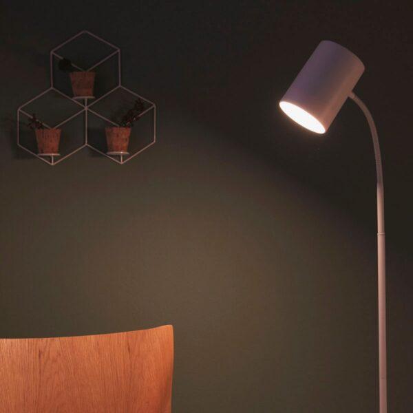 Lámpara de pie Himroo blanco Philips-1119