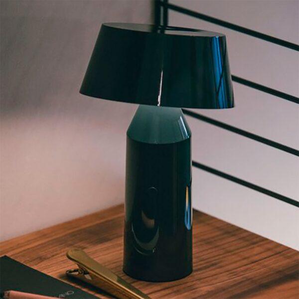 Lámpara de sobremesa Bicoca antracita Marset-803