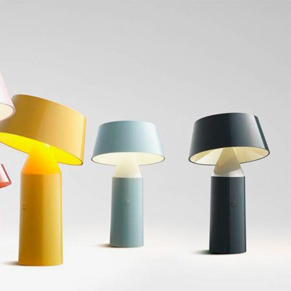 Lámpara de sobremesa Bicoca antracita Marset-804