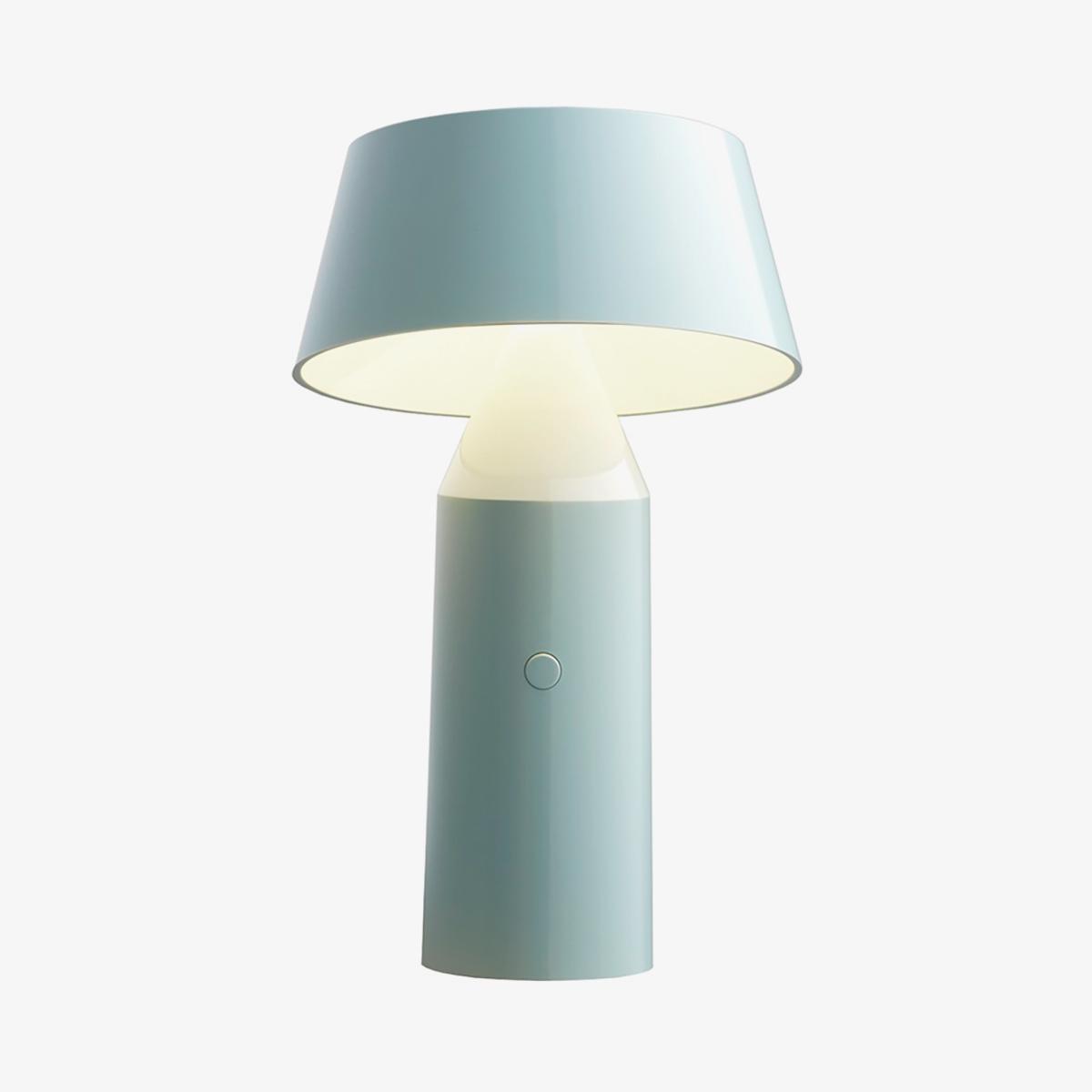 Lámpara de sobremesa Bicoca azul claro Marset-0