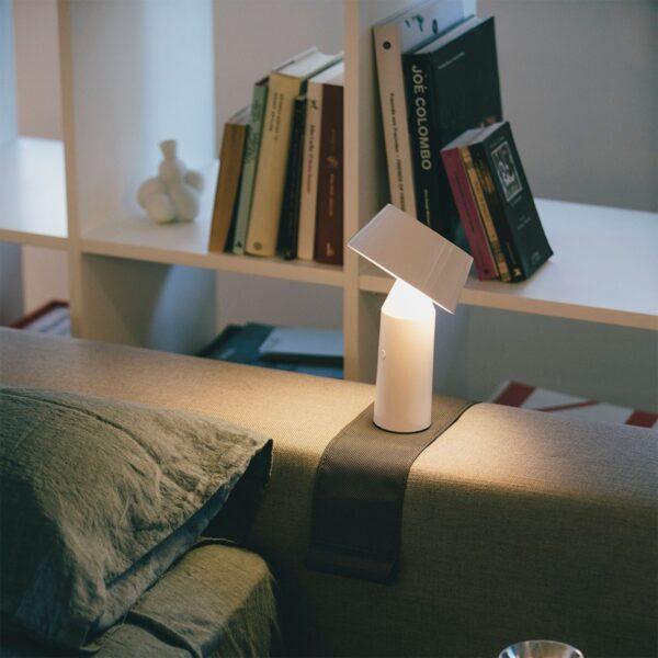 Lámpara de sobremesa Bicoca blanco roto Marset-806