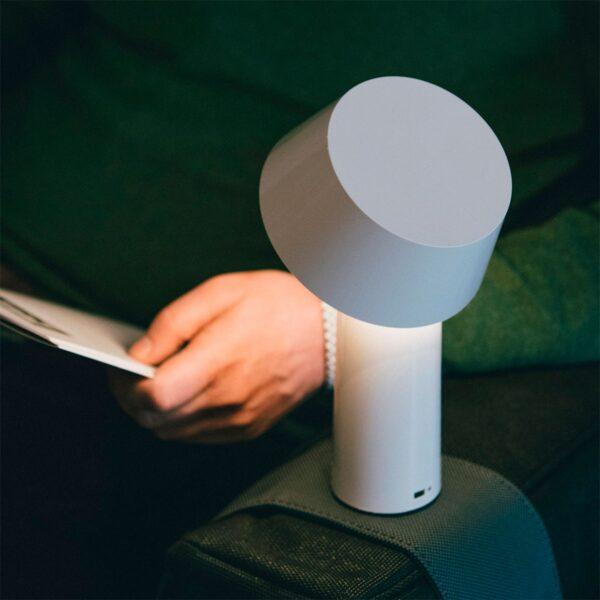 Lámpara de sobremesa Bicoca blanco roto Marset-808