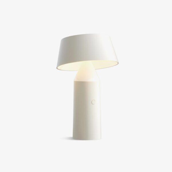 Lámpara de sobremesa Bicoca blanco roto Marset-0