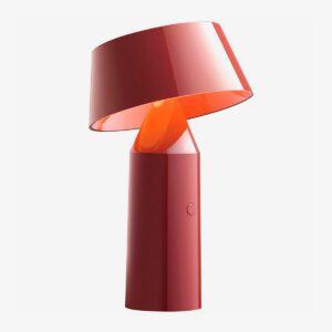 Lámpara de sobremesa Bicoca rojo vino Marset-0