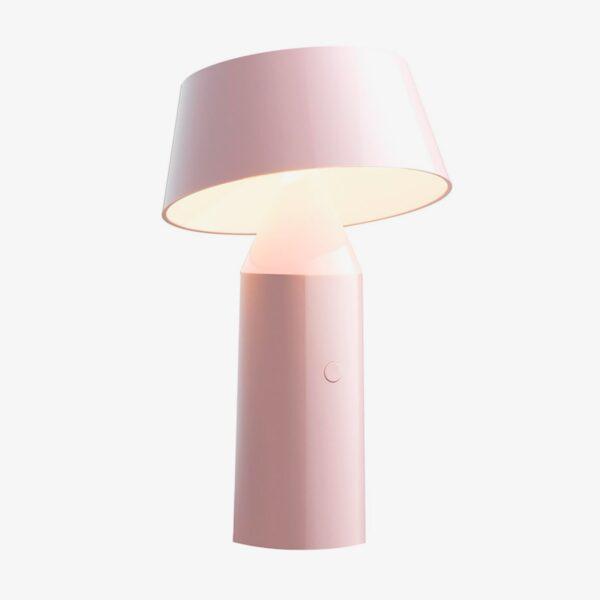 Lámpara de sobremesa Bicoca rosa palo Marset-0