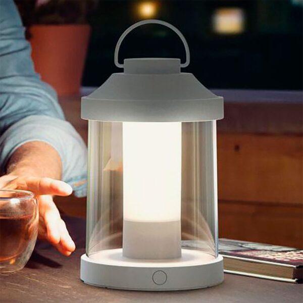Lámpara de sobremesa inalámbrica Abelia blanco Philips-1128