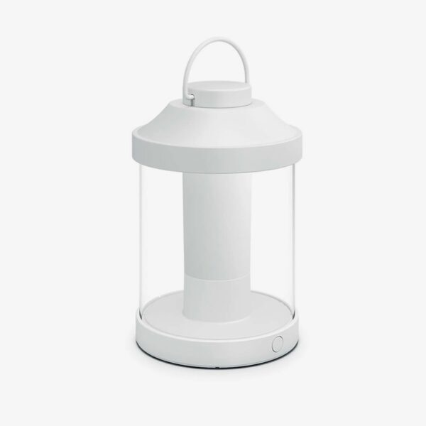 Lámpara de sobremesa inalámbrica Abelia blanco Philips-0